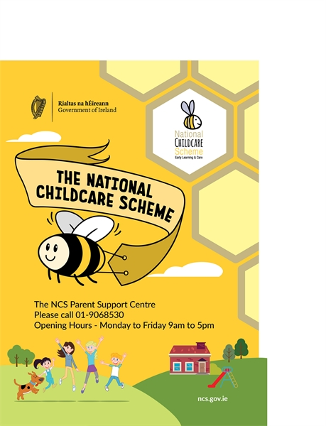 The National Childcare Scheme Parent Support Centre is now open!