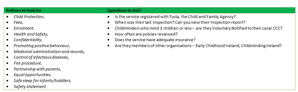 confidentiality in a childcare setting P6-decsribe a policy in a child care setting concerning confidentiality and the sharing on information it is obligatory for every child care setting to have a.